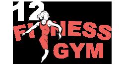 12 Fitness Gym Logo